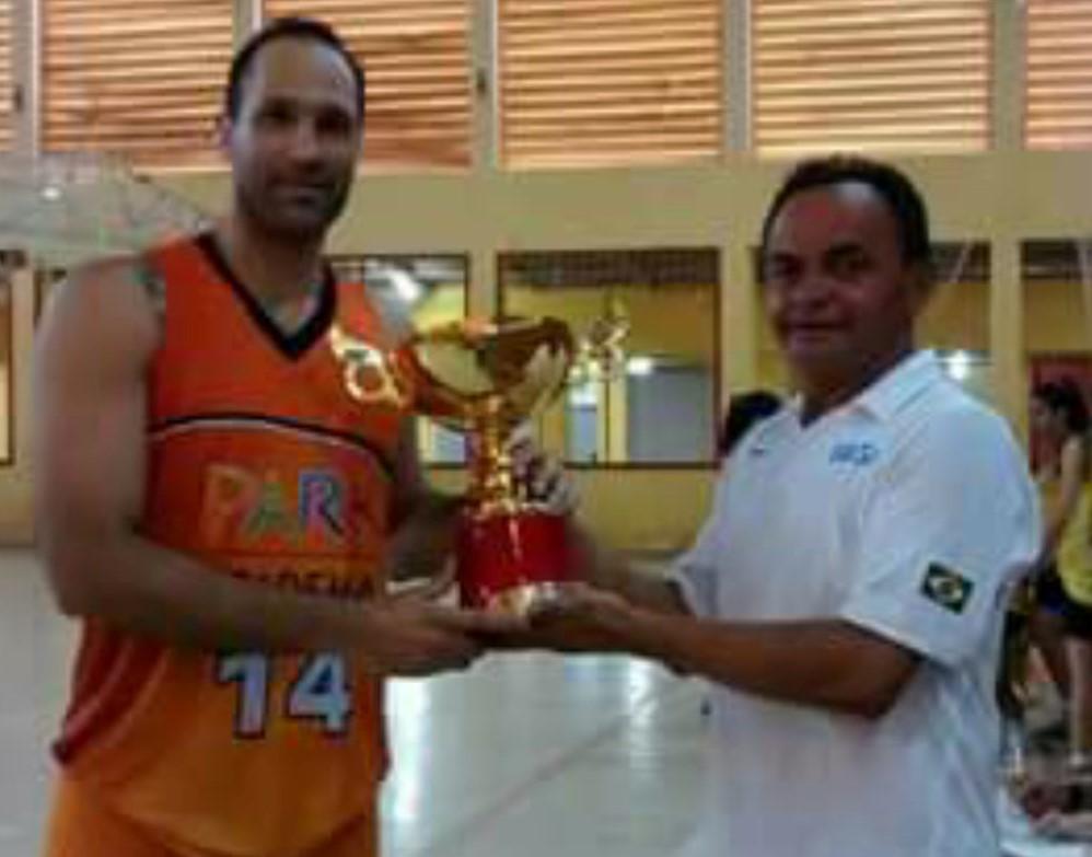 O experiente Marcel Mourão foi o cestinha geral da competição/ Foto: Divulgação/FEAB