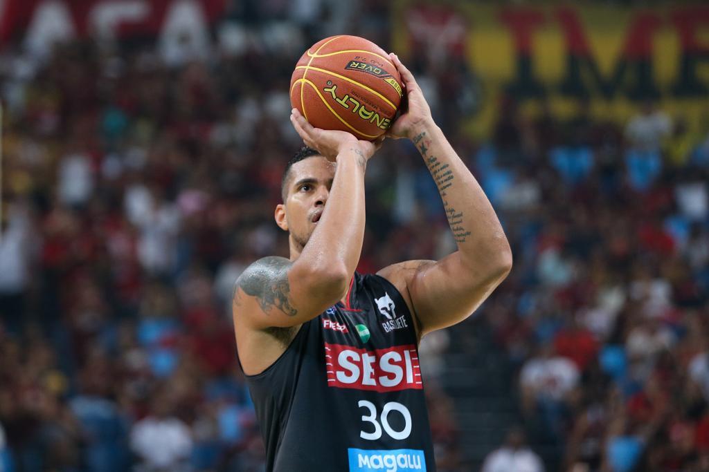 Hettsheimeir foi eleito o MVP da decisão / Foto: Bruno Lorenzo/LNB