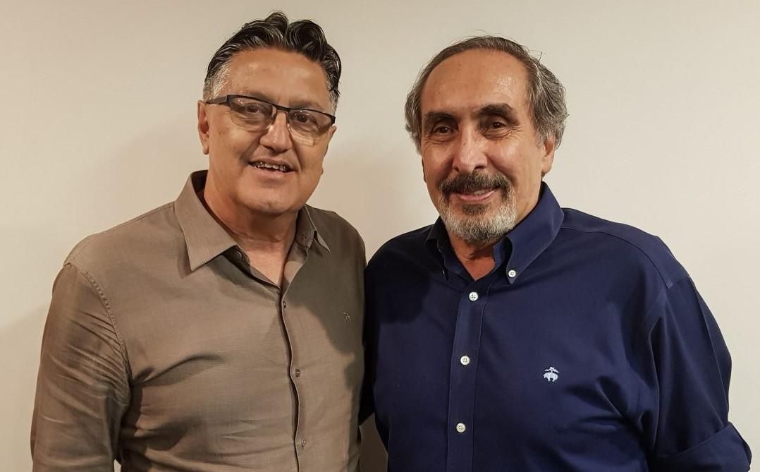 Nilo Guimarães e Kouros Monadjemi / Foto: Divulgação/LNB