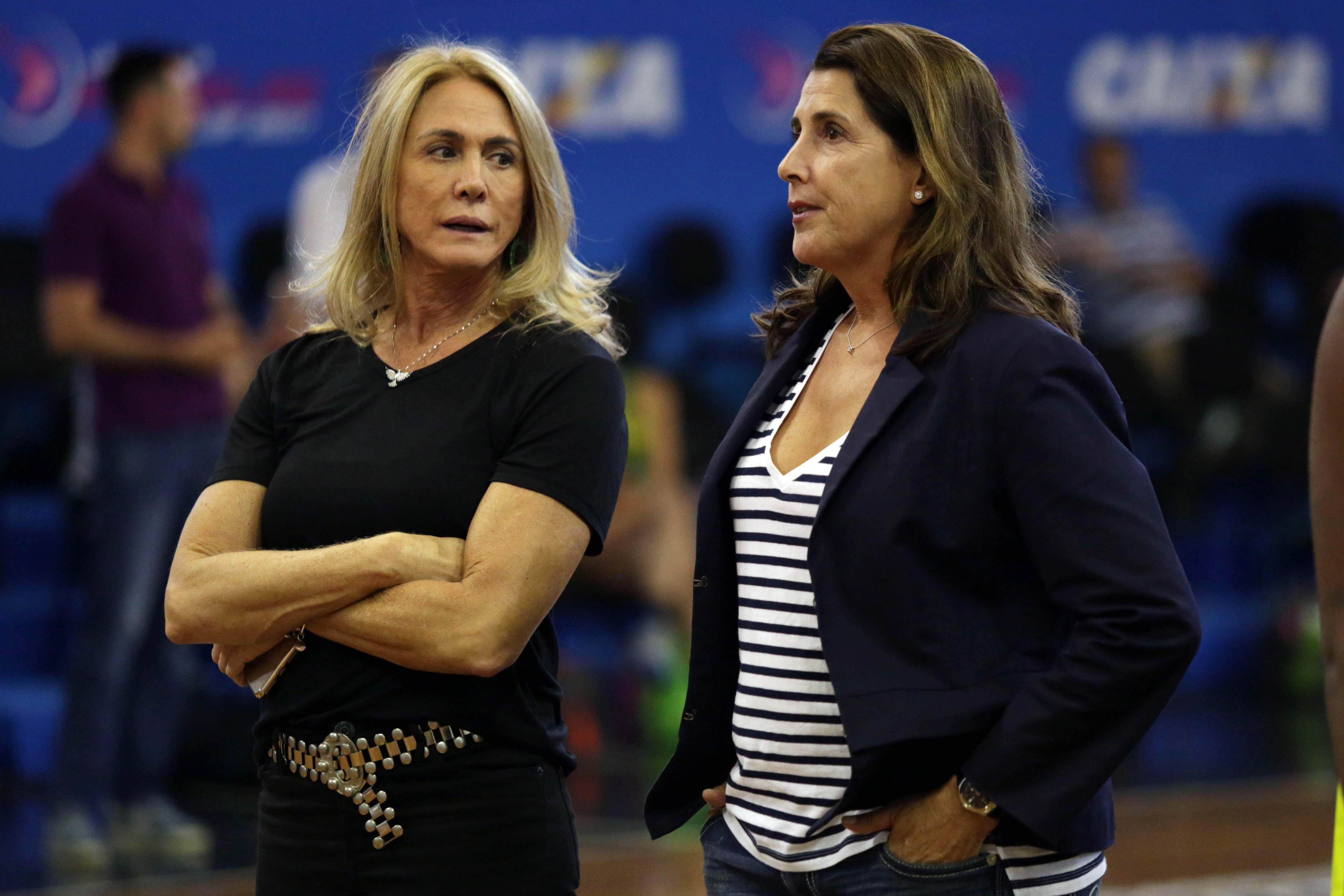Hortência e Paula são 'Lendas' do Girls Camp/NBA Basketball School / Foto: João Pires