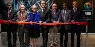 Hamane Niang, Horacio Muratore, Carol Callan, Andreas Zagklis, Ingo Weiss, Usie Richards e Carlos Alves / Foto: FIBA Americas