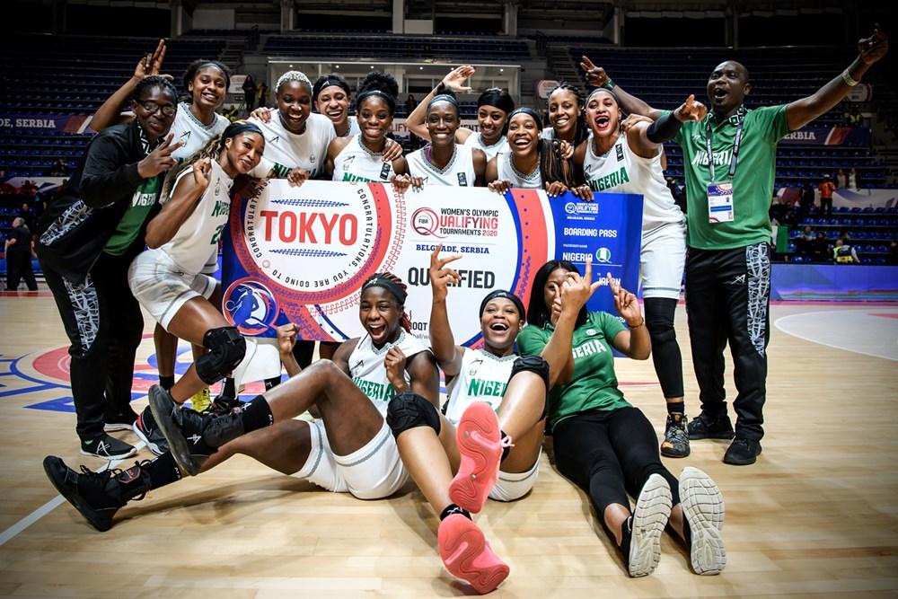Nigéria comprovou seu ótimo momento e garantiu vaga em Tóquio / Foto: FIBA