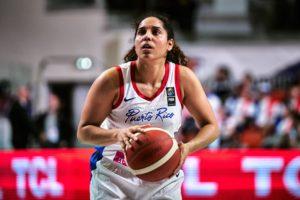 Jeniffer O'Neill foi o grande nome do jogo / Foto: FIBA