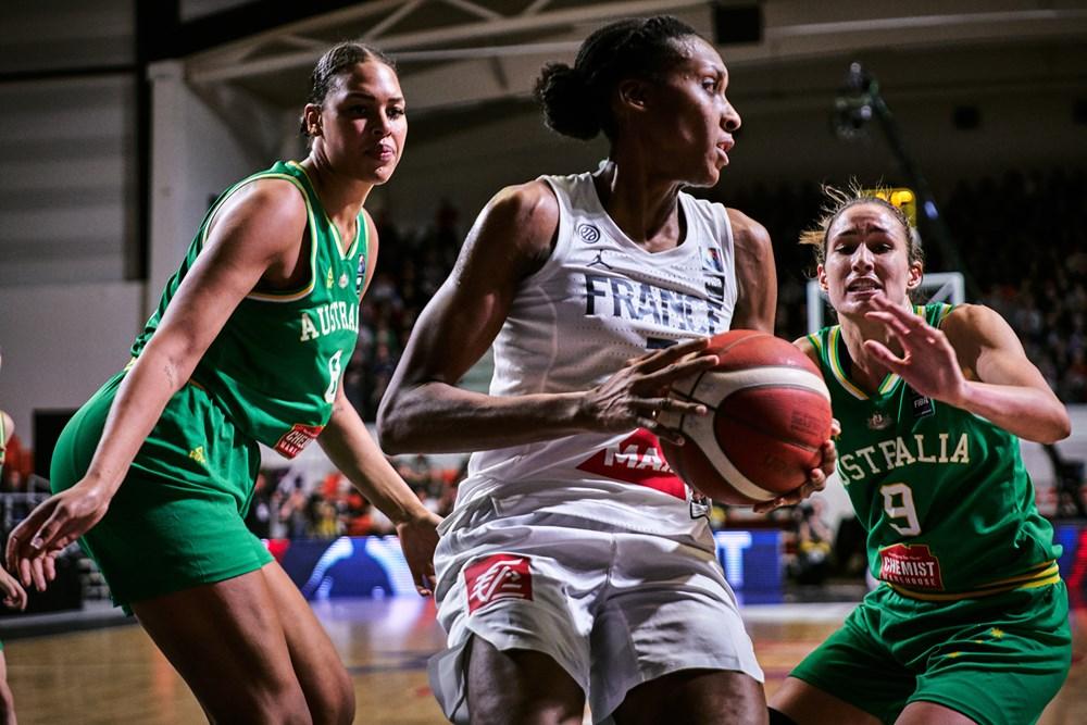 França bateu a Austrália no outro jogo do grupo / Foto: FIBA