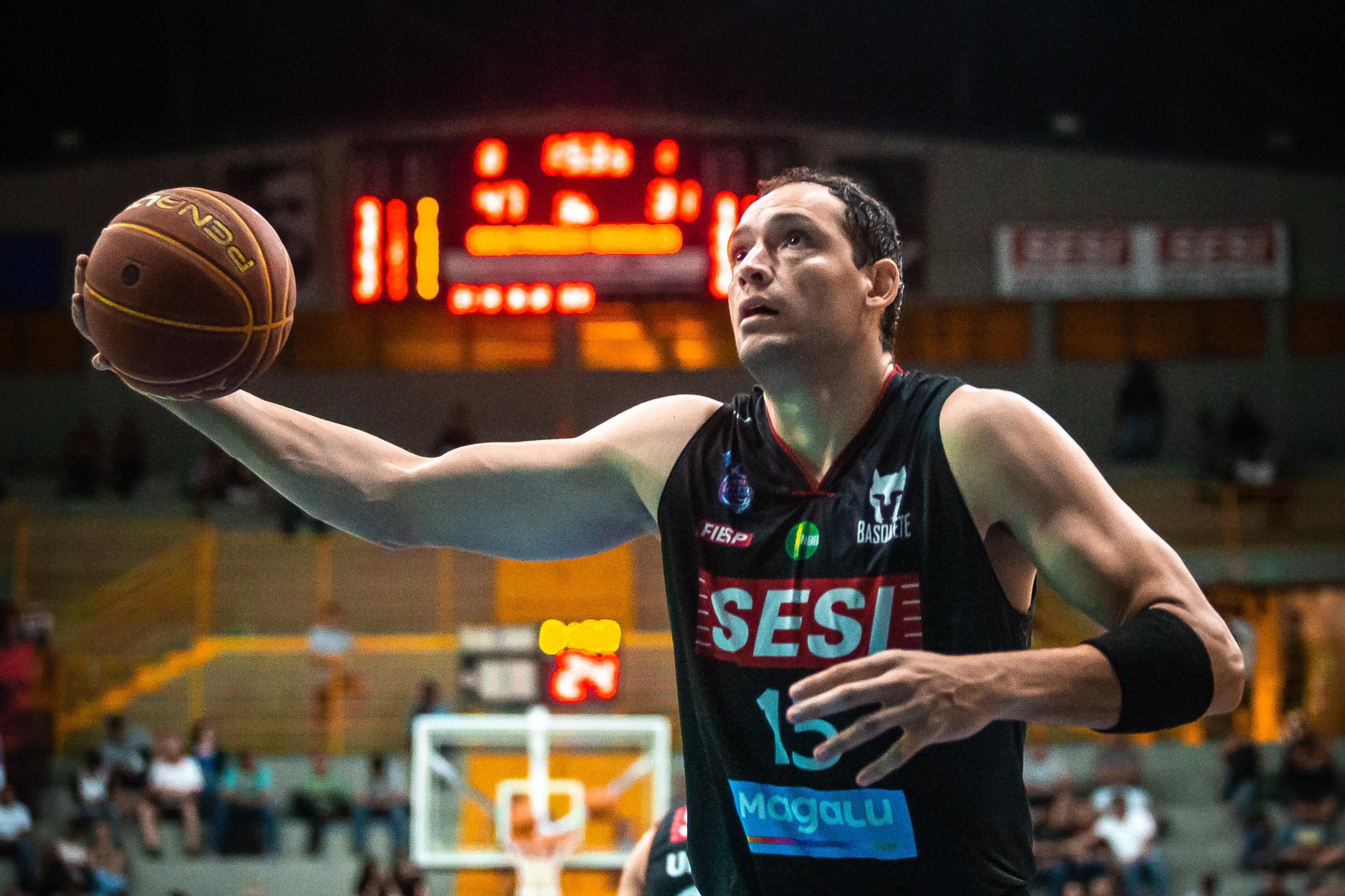 O jogo marcou a volta de Lucas Cipolini / Foto: Marcos Limonti/Divulgação