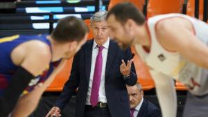 Pesic quer o Barça tranquilo em quadra / Foto: ACB