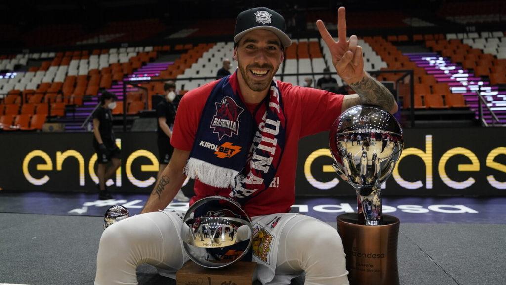 Argentino Luca Vildoza foi eleito o jogador mais valioso da decisão / Foto: ACB