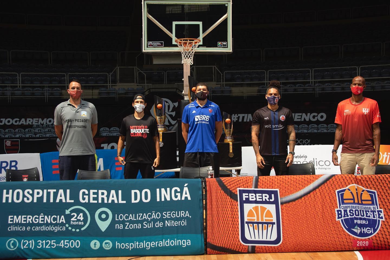 Representantes das equipes / Foto: Divulgação/FBERJ