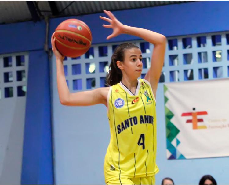 Marcella Prande foi eleita a destaque do sub-14 / Foto: Divulgação/APABA