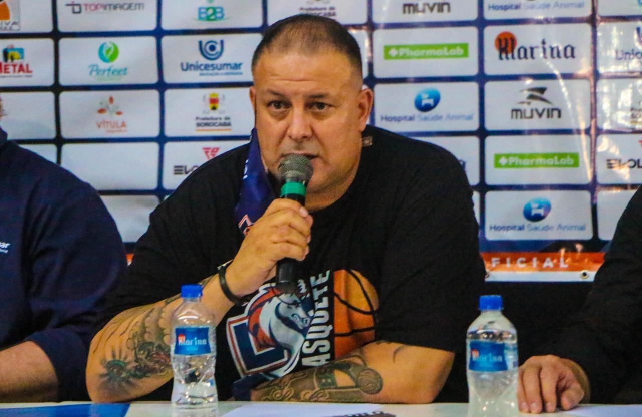 Rinaldo Rodrigues reforçou que o trabalho da LSB, realmente não para / Foto: Marina Gouvêa/LSB