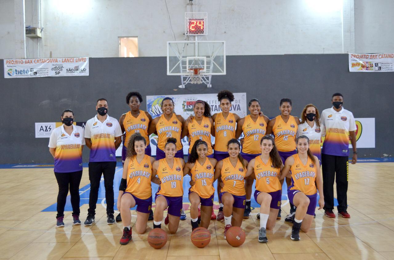 O Apagebasket/Guarulhos fez sua estreia no adulto / Foto: Divulgação