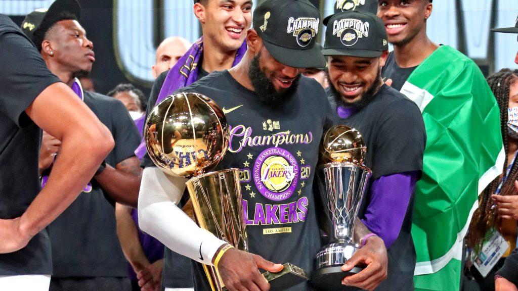 LeBron James se destacou muito nesta série / Foto: NBA