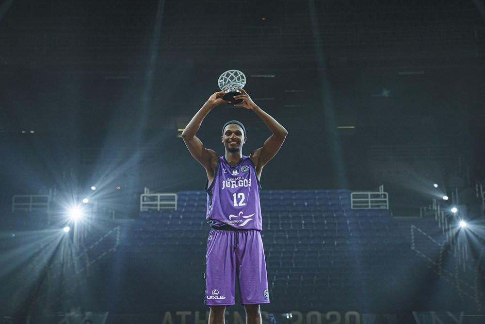 O norte-americano Thaddeus McFadden foi eleito o MVP do 'Final 08' / Foto: FIBA