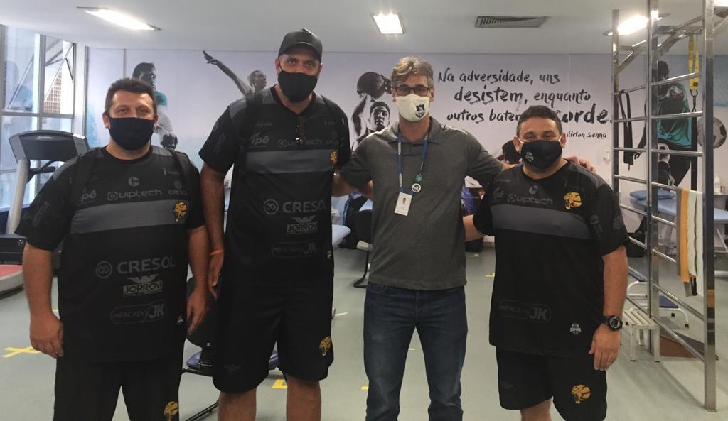 Salles, Bertollim, Westin e Souza / Foto: Divulgação