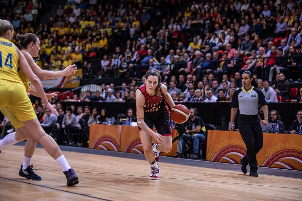 Andreia Regina Silva em ação na FIBA Women's AmeriCup – 2021 / Foto: FIBA