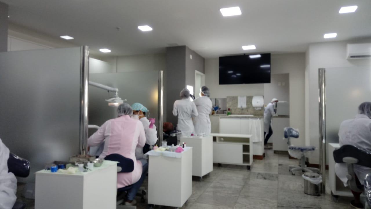 Integrantes do projeto passaram por avaliação odontológica / Foto: Divulgação
