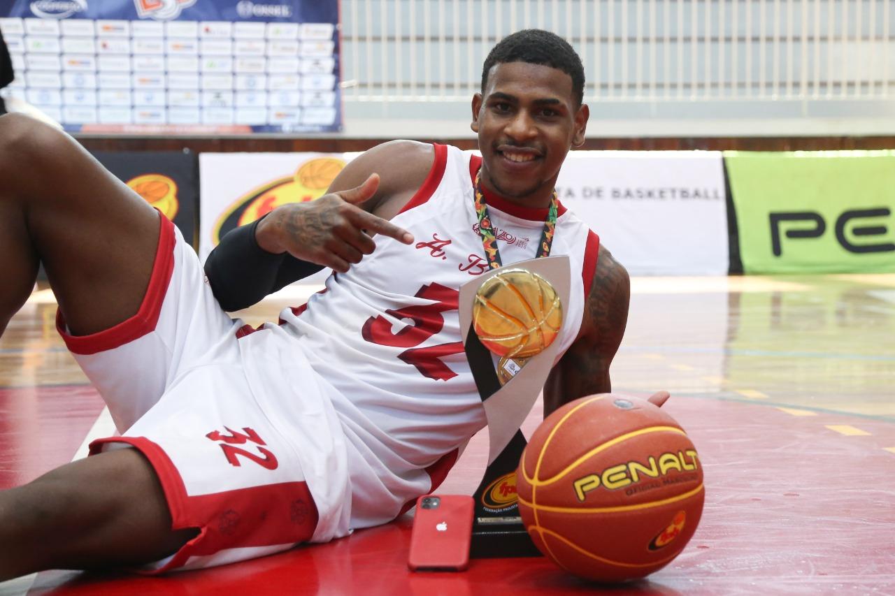 Anderson Barbosa foi eleito o MVP da competição / Foto: Willian Oliveira/Divulgação