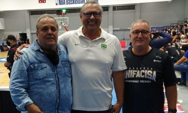 Guilherme Kroll, Guy Peixoto Jr e Eduardo Schaffer / Foto: Divulgação